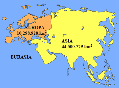 Europa E Asia Cartina.L Europa E Un Continente O Un Subcontinente