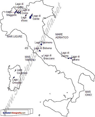 I Principali Laghi Italiani