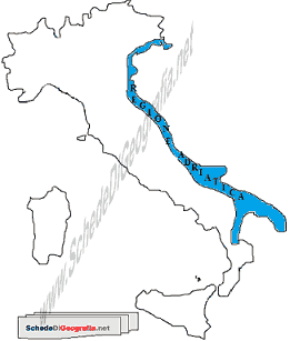 Italia Climatica Cartina.La Regione Climatica Adriatica